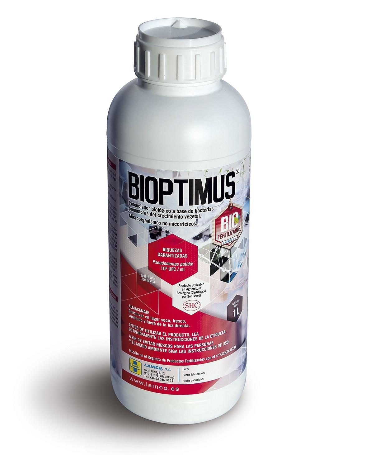 BIOPTIMUS rizobacteria promotora de producción