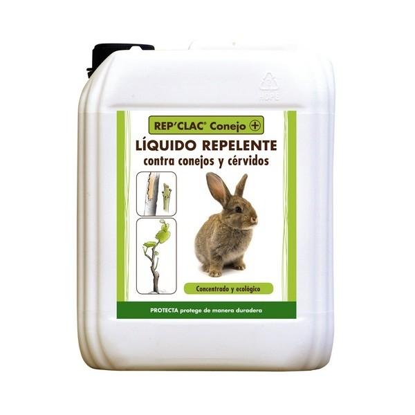 CONEJEX repelente conejos y cérvidos en troncos de árboles y vegetación