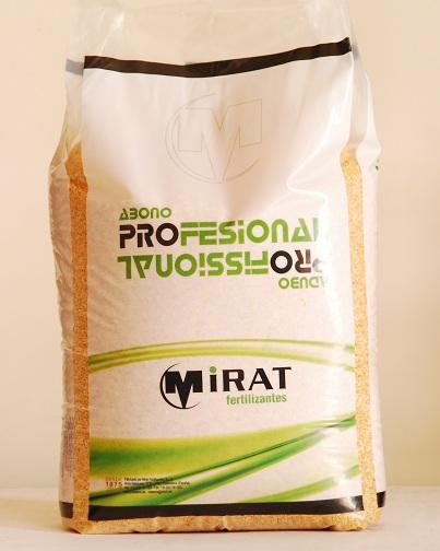 FERTILENT CESPED Micro fertilizante liberación lenta 20-05-10 + 2 Mg
