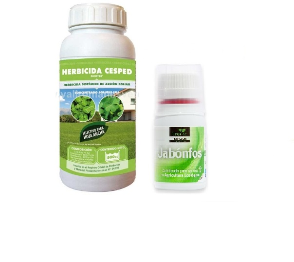DICOTEX herbicida contra hoja ancha en césped