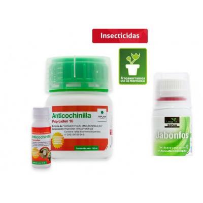 Anti-cochinillas de 100 ml  contra cochinillas y primeros estadios de mosca blanca. Incluye moijante Jabonfos