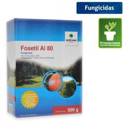Fosetil-Al 80 WP contra enfermedades de césped, coníferas y árboles