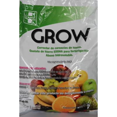 GROW quelato de hierro 4,8% 5 kg  (caja 20 kg)