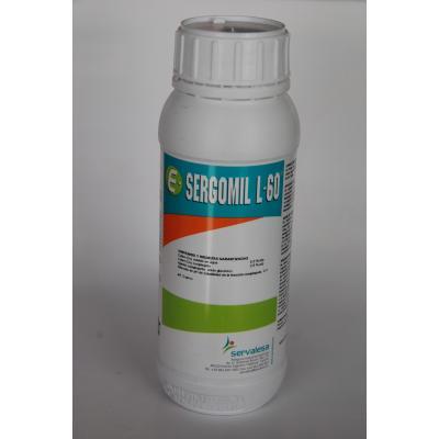 Sergomil L60 cobre sistémico preventivo enfermedades foliares